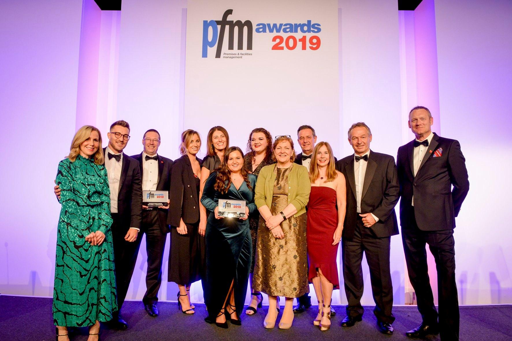 Swiftclean wins prestigious PFM award